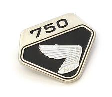 ✳ Honda CB750K0 Side Cover Emblem 1969 - 1970 • Black • Right • 87124-300-020 ✳