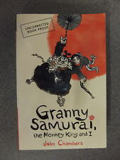 Granny Samurai The Monkey King And I by John Chambers-2 * Proof * P/B Pub Walker