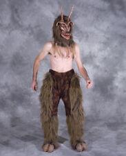 Horned Got Your Goat Devil Adult Halloween Costume Mask Gloves Legs Hooves Feet