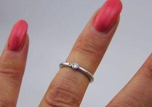 TOP!!! Ring 925 Silber mit Zirkonia Silberring zierlich Handarbeit Zertifikat
