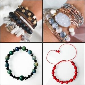 Personal Amulet Bracelet with Gemstones By Numerological Birth Date Analysis