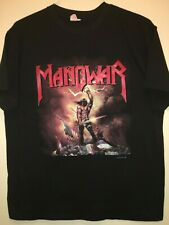 MANOWAR 1989 'Kings Of Metal World Tour' Rare Vintage T-Shirt
