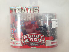 Transformers Movie Robot Heroes Optimus Prime Ravage NEW MIB