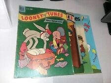 Looney Tunes 4 Issue Golden Silver Bronze Age Comics Lot Run Set Collection