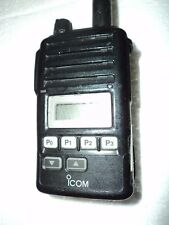 Icom F50V VHF portable radio 100% WORKING narrowband fire pager police MURS &