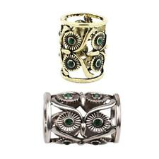 2pcs Vintage Scarf Ring Buckle Owl Antique Silver Bronze Women Scarf Jewelry