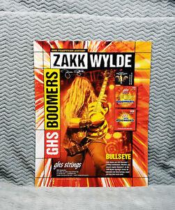 Ozzy *Zakk Wylde* GHS & Dunlop Promo Posters<<>>RARE