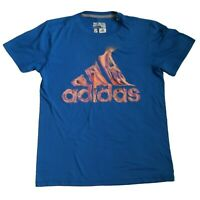 Adidas Performance Tee Blue Womens size S
