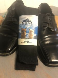Alpaca Dress Socks Men's Black 9-12.5.                FREE SHIPPING!!!