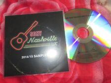 Sony Music Nashville Sampler 2014/2015 Promo CD Album