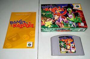 Banjo Kazooie complete in box - N64 Nintendo 64 - Free Shipping