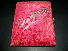 ANTIQUE PHOTO ALBUM 1920'S AWESOME!