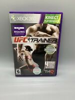 UFC Personal Trainer for Xbox 360 Requires Kinect Sensor Complete C