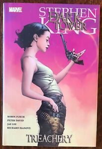 SEALED Stephen King Treachery Dark Tower Marvel Hardcover Graphic Novel