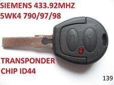 VW SHARAN FORD GALAXY SIEMENS 433.92MHZ 5WK4 790/97/98 remote key fob controler
