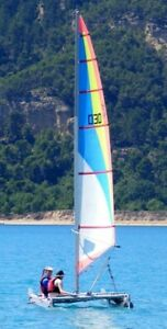 Catapult inflatable catamaran