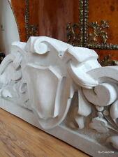 Stucco - große Bekrönung Supraport 132-4400B aus Beton im klassischen Stil