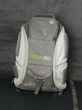 Xbox 360 Gaming Console Backpack  Accessories Mad Catz Travel Lg Book Bag Gray