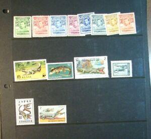 Stamp Lot of Crocodiles Mint L396
