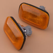 2pcs Fender Turn Signal Side Marker Lamp Light Fit Toyota Land Cruiser 100 80