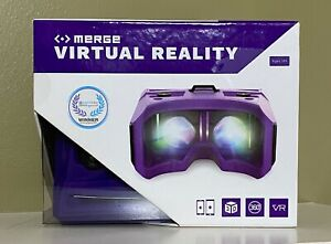Merge Virtual Reality Goggles Smartphone 360 Headset ~ Brand New!