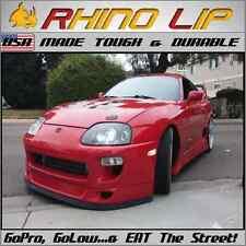 TOYOTA Supra Celica Solara Starlet GT Front Bumper Lip Rubber Chin Splitter Trim