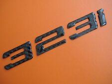 Real Carbon Fiber Trunk Letters Emblem Badge for BMW 323i E21 E30 E36 E46 E90
