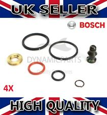 4X VW GOLF BORA POLO PASSAT CADDY BEETLE 1.9 2.0 TDI INJECTOR SEAL KIT - BOSCH