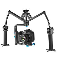 Neewer Portable Aluminum Alloy Handheld Mechanical Stabilizer for Canon Nikon