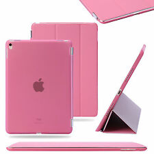Apple iPad Air 5 5th POLIURETANO ULTRASOTTILE RESISTENTE SMART SLEEP COVER ROSA