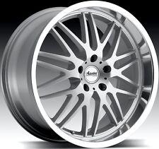 18x9.5 Advanti Kudos 5X114 +35 Silver Rims Aggressive Fits CivicVeloster Eclipse