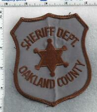 Oakland County Sheriff (Michigan) 3rd Issue Uniform Take-Off Shoulder Patch