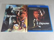 The Unnamable - Blu-Ray - Unearthed Films - w/ Slip Cover - RARE!
