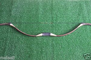 Hunting Handmade Recurve Bow Mongolia Traditional Longbow Archery Practice