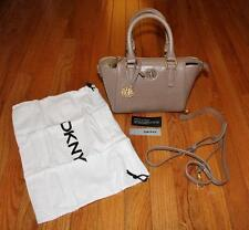 NEW NWT Donna Karan DKNY Mini Tote Bag Leather Handbag Sutton Lizard Print $225