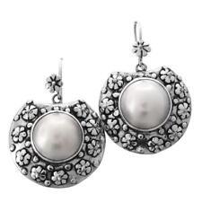 f60ac6fafcf4 Pendientes de joyería con perlas blanco perla