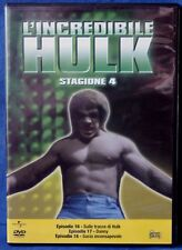 L'INCREDIBILE HULK - STAGIONE 4 - EPISODI 16-18 - DVD N.02633