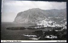 PORTUGAL~1940's CAMARA DE LOBOS  MADEIRA ~Aerial Town View ~ RPPC