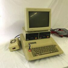 Apple IIe Computer w/ Zenith Monitor and Two Disk Drives - Fingerprint Scanner