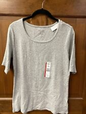 New listing Women's Time and Tru Grey Top  Size S 4-6 New