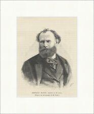 Edouard Manet Maler Franzose Impressionismus Ehrenlegion Holzstich E 21301