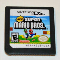 New Super Mario Bros. Nintendo DS Game Cartridge Card US Version Gift