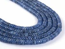 "0496 9mm Blue lapis tubes rondelle loose gemstone beads 16/"""