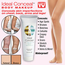 Ideal Conceal Instant Body Makeup Cream Enhancer - As Seen On TV, New!