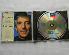 SCHUMANN/V.ASHKENAZY Arabesque-Papillons-Symphonic studie W.GERMANY(PDO)CD DECCA