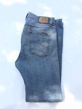 Nudie Skinny Men Jeans Sz 30 X 32 Organic Cotton Distressed