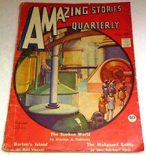 Amazing Stories Quarterly – US pulp – Fall 1934 - Vol.7 No.2 - Coblentz, Kline