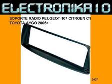 Marco Soporte auto-radio citroen c1 Peugeot 107 Toyota aygo 2005> fascia