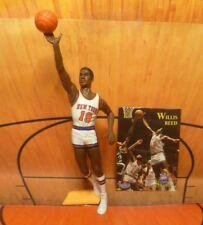 1997  WILLIE REED - Starting Lineup - SLU - Loose Figure & Card - N.Y. KNICKS