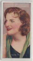 Dame Gracie Fields English Actress Singer Comedian 80+  Y/O Trade Ad Card